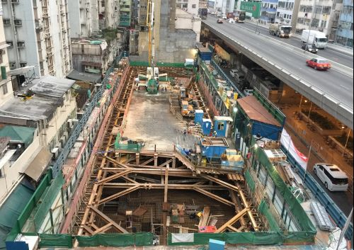 Foundation, ELS & Pile Cap Works for Sheung Heung Road Residential Development