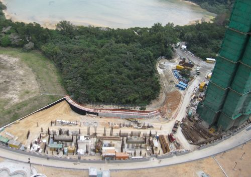 Foundation and Sub-Structure Works (Phase 2 and 3) for Proposed Comprehensive Development at STTL502, Lok Wo Sha, Ma On Shan