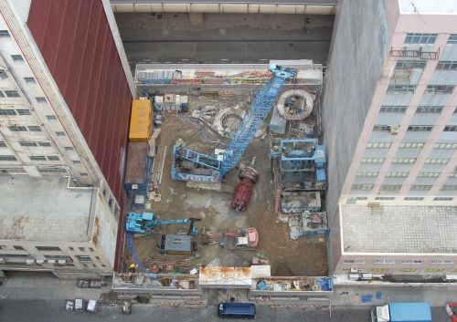 Foundation Works for Proposed Commercial Development at I.L.298, No. 50 Wong Chuk Hang Road